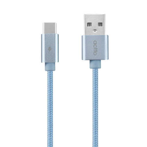 Actto Zoo Type-C Cable TC-18_Blue_1.jpg