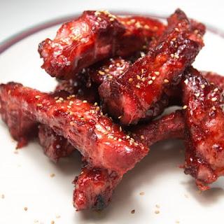 Pressure Cooker Char Siu Pork Ribs