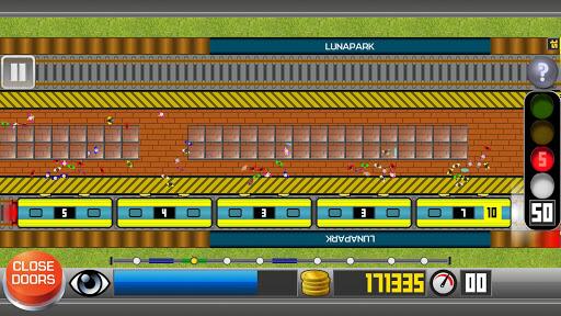 Subway Train Simulator 2D 2021 - metro driving sim screenshots 2