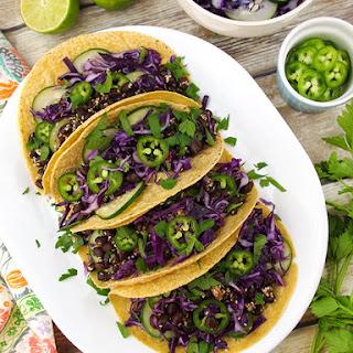 Sesame Black Bean Tacos Recipe