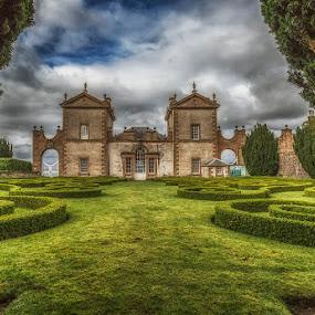 Chatelherault, Scotland by Angela Higgins - Buildings & Architecture Public & Historical