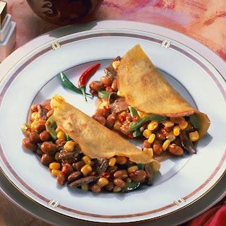 """Pfannkuchen mit """"Chili con Carne"""""""