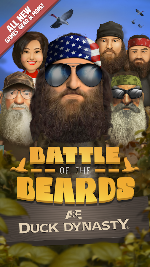 DuckDynasty®:BattleOfTheBeards- screenshot