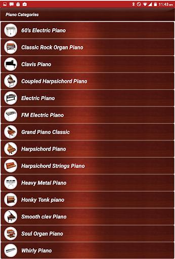 piano keyboard classic music screenshot 3