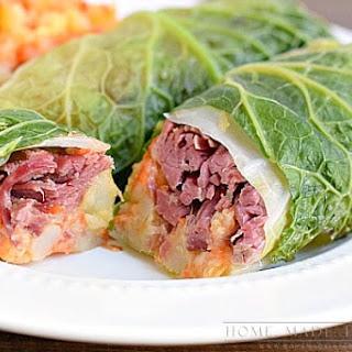 Corned Beef Cabbage Rolls.