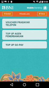 BNI Mobile Banking- screenshot thumbnail