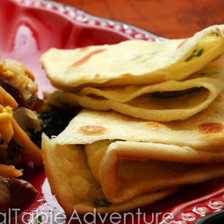Chinese Pancakes with Green Onion