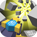 Idle Fort - brick breaker shooting merge game icon