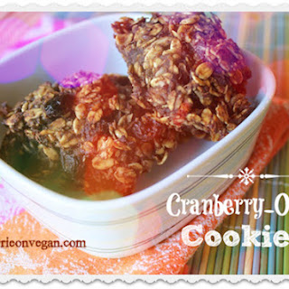 Sugar-Free Cranberry-Oat Cookies