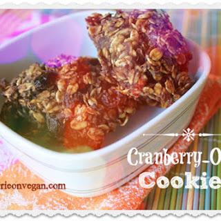 Sugar-Free Cranberry-Oat Cookies.