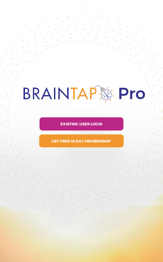 BrainTap Pro (Unreleased)- screenshot