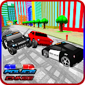 Toy Car Police Chase 3D icon