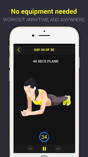 30 day plank challenge free screenshot 3