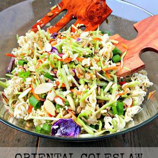 Oriental (Asian) Coleslaw