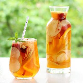 Hard Apple Cider Sangria.