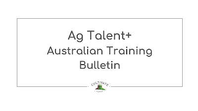Ag Talent Australian Training Bulletin