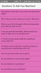 what is some questions to ask your boyfriend