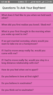 relationship questions to ask your boyfriend