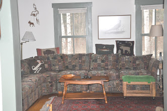 """Photo: living room with new 42"""" LED TV, DVD, surround-sound stereo and Direct TV receiver"""
