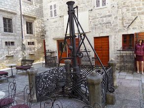 Photo: This 18th century water pump was the first one for the city.
