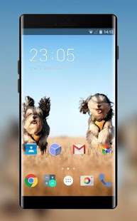 Theme for Karbonn K-Touch M105 Dog Wallpaper - náhled