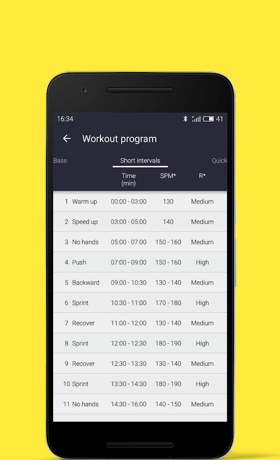 machine workout app