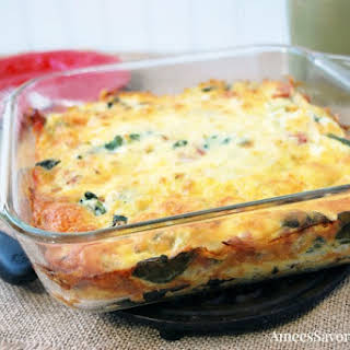 Healthy Hashbrown Casserole.