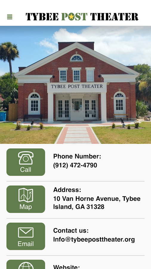 Tybee Post Theater- screenshot
