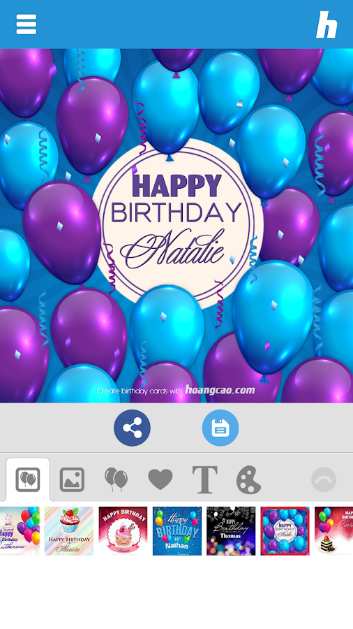 happy birthday card maker  android apps on google play, Birthday card