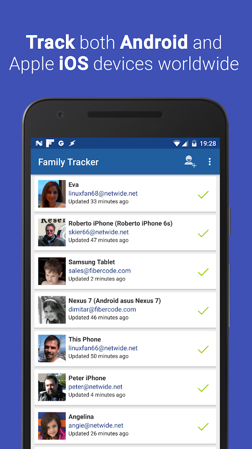 Family Tracker: Locate Phones- screenshot