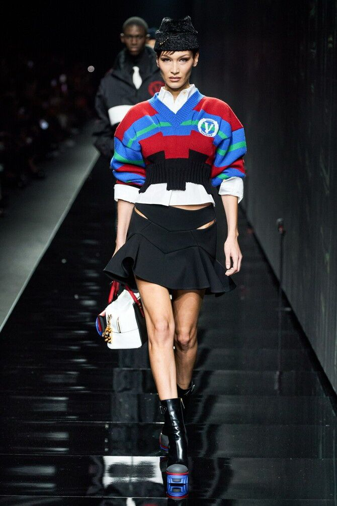 Sweater and a skirt: the most fashionable winter combinations 9