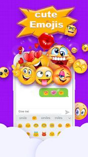 Emoji Keyboard - Cute Emotions - náhled