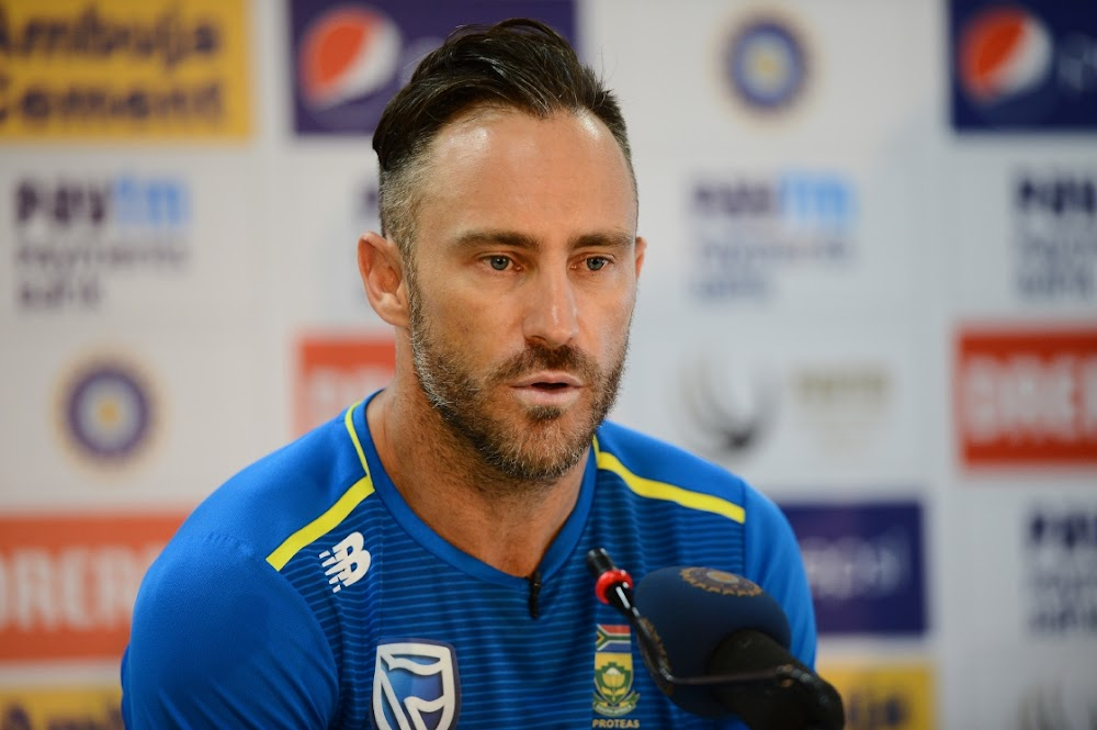 Faf is finding out what happens when a good captain's team doesn't shape up