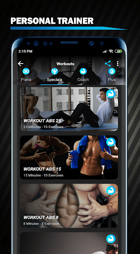 Abs Workout - 6 pack and Lose Belly Fat in 30 Days screenshot 13