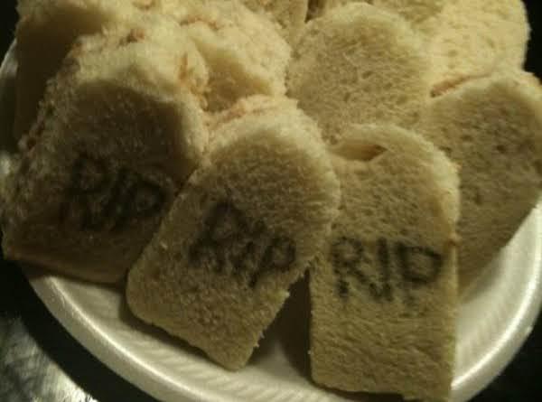 Tombstone Finger Sandwich