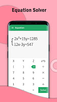 screenshot of Calculator PRO - Free Scientific Equation Solver