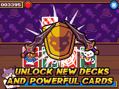 Cat Stacks Fever: endless speed card game Screenshot
