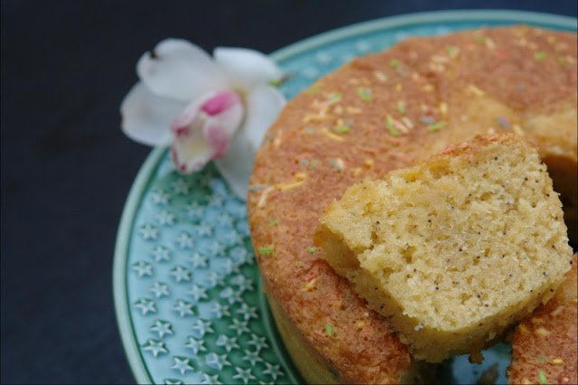 Coconut Milk Cake and Poppy Seeds to Receive Spring