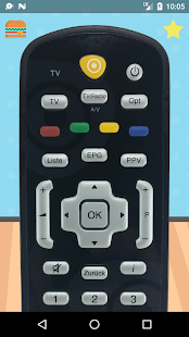 Remote Control For Vodafone Kabel - náhled