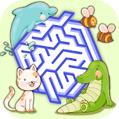 Classic Animal Maze Game