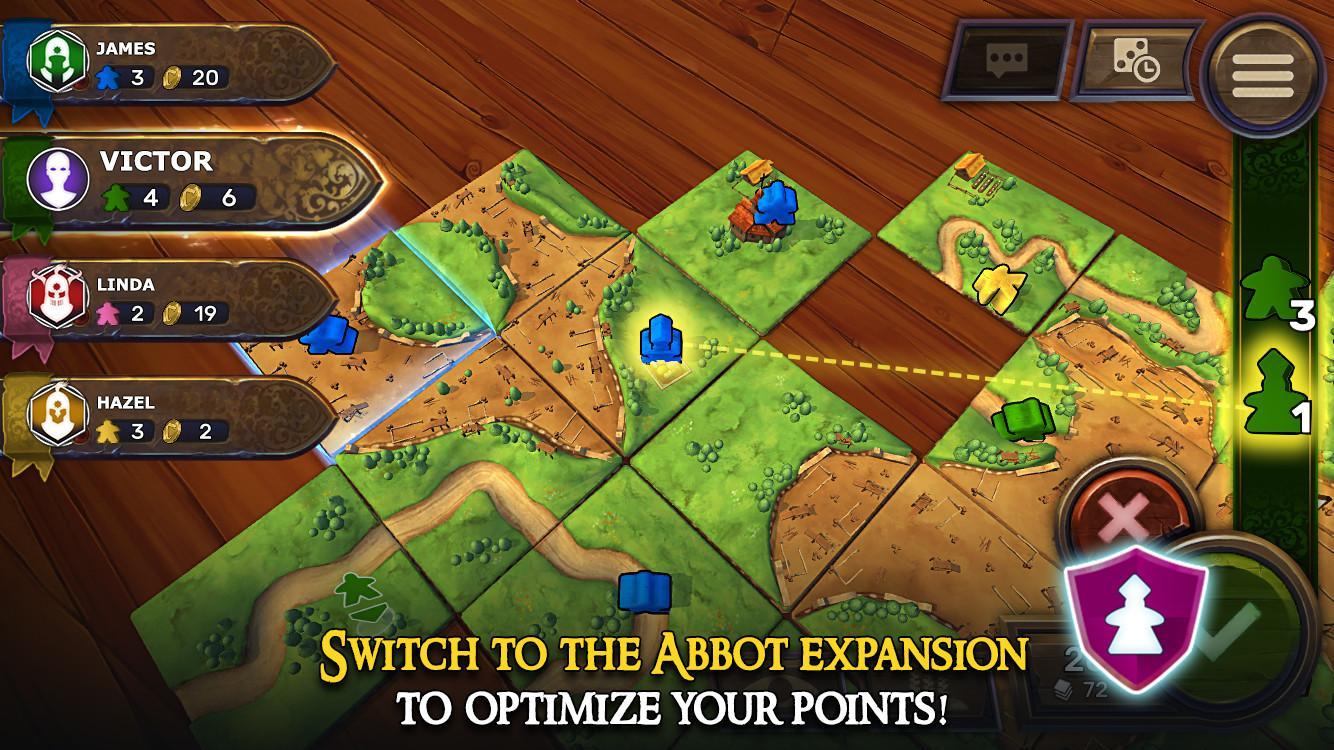 Carcassonne: Official Board Game -Tiles & Tactics screenshot #5