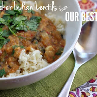 Slow-Cooker Indian-Spiced Lentils.