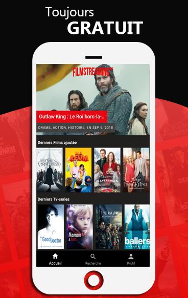 Film Streaming VF Android App Screenshot