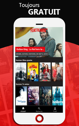 Film Streaming VF Android App Screenshot