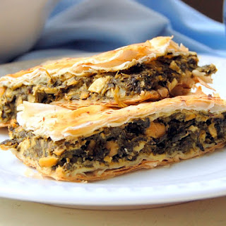 Greek Spinach Pie [Vegan]