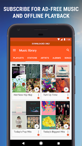 Google Play Music  7