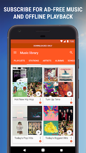 Screenshot 6 for Google Music's Android app'
