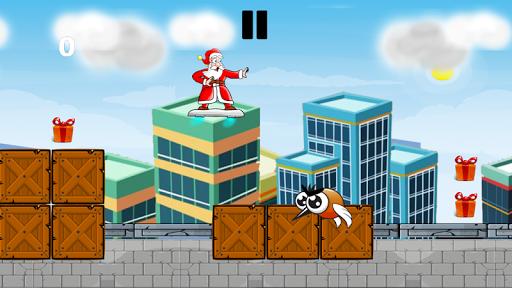 Christmas games - Santa skater