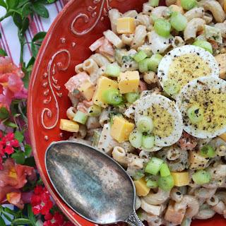 BBQ Cheddar Summer Macaroni Salad Recipe