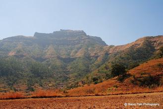 Photo: Fort Torana from Base village Velhe